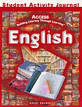 Great Source Access English: Student Activities Journal Grades 6-8