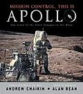 Mission Control, This Is Apollo: The Story of the First Voyages to the Moon Cover