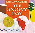 The Snowy Day Board Book Cover