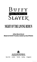 The Night Of The Living Rerun by Arthur Byron Cover
