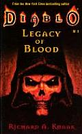 Diablo #01: Legacy Of Blood by Richard A Knaak