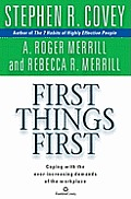 First Things First (Abridged) Cover