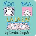 Moo, Baa, La La La! (Boynton Board Books) Cover