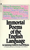 Immortal Poems of the English Language An Anthology