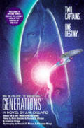 Star Trek Generations :A Novel by J M Dillard