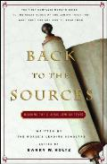 Back to the Sources: Reading the Classics