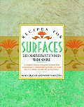 Recipes for Surfaces