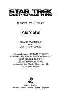 Abyss star Trek Deep Space Nine Section 31