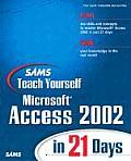 Sams Teach Yourself Microsoft Access 2002 in 21 Days [With CDROM]