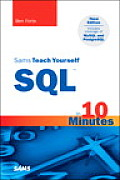 Sams Teach Yourself SQL in 10 Minute 3RD Edition Cover