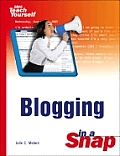 Blogging in a Snap (Sams Teach Yourself in a Snap) Cover