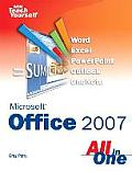 Sams Teach Yourself Microsoft Office 2007 All in One Cover
