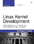 Linux Kernel Development (Developer's Library) Cover