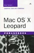 Mac OS X Leopard Phrasebook (Developer's Library)
