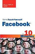 Sams Teach Yourself Facebook in 10 Minutes (Sams Teach Yourself) Cover