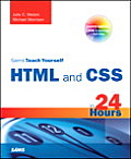 Sams Teach Yourself HTML & CSS In 24 Hours 8th Edition