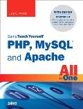 Sams Teach Yourself PHP, MySQL and Apache All in One [With CDROM] (Sams Teach Yourself All in One) Cover