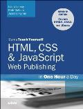 Sams Teach Yourself Web Publishing with Html5 and Css3 in One Hour a Day (Sams Teach Yourself) Cover