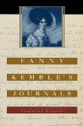 Fanny Kembles Journals Edited & with an Introduction by Catherine Clinton