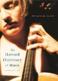 Harvard Dictionary of Music 4TH Edition Cover
