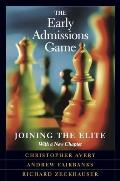 Early Admissions Game: Joining the Elite (03 Edition)
