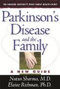 Parkinson's Disease and the Family: A New Guide, (Harvard University Press Family Health Guides) Cover