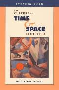 Culture Of Time & Space 1880 1918
