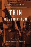 Thin Description Ethnography & The African Hebrew Israelites Of Jerusalem