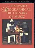 Harvard Biographical Dictionary Of Music