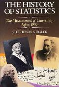 History of Statistics The Measurement of Uncertainty Before 1900