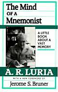 The Mind of a Mnemonist: A Little Book About a Vast Memory Cover
