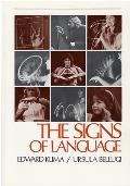 Signs of Language (79 Edition)