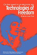 Technologies of Freedom: On Free Speech in an Electronic Age Cover