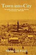Town Into City: Springfield, Massachusetts, and the Meaning of Community, 1840-1880