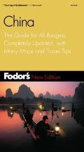 Fodor's China: The Guide for All Budgets, Completely Updated, with Color Photos and Many Maps (Fodor's China) Cover
