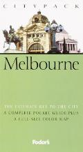 Melbourne with Map (Fodor's Citypack Melbourne)