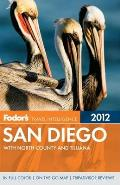 Fodors San Diego 28th Edition With North County & Tijuana