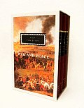 War and Peace: 3-Volume Boxed Set (Everyman's Library) Cover