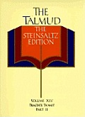 Talmud The Steinsaltz Edition Volume 14