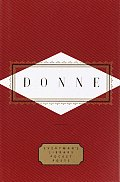 Donne: Poems (Everyman's Library Pocket Poets) Cover