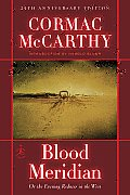 Blood Meridian: Or the Evening Redness in the West (Modern Library) Cover