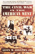 Civil War in the American West (Vintage Civil War Library) Cover