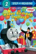 Happy Birthday, Thomas! (Step Into Reading: A Step 2 Book) Cover
