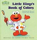 Little Elmos Book Of Colors Sesame Str