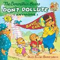The Berenstain Bears Don't Pollute (Anymore) (Berenstain Bears First Time Chapter Books) Cover