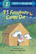 P J Funnybunny Camps Out Step Into Readi