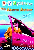 A to Z Mysteries #01: The Absent Author Cover