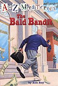 A to Z Mysteries #02: The Bald Bandit Cover