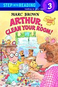Arthur, Clean Your Room! with Sticker (Step Into Reading Sticker Books)