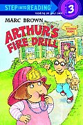 Arthur's Fire Drill with Sticker (Step Into Reading Sticker Books)